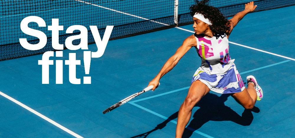 Stay fit met tennis!