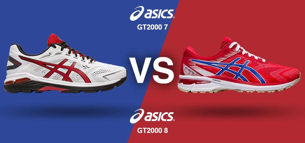 ASICS GT-2000 7 vs. ASICS GT-2000 8