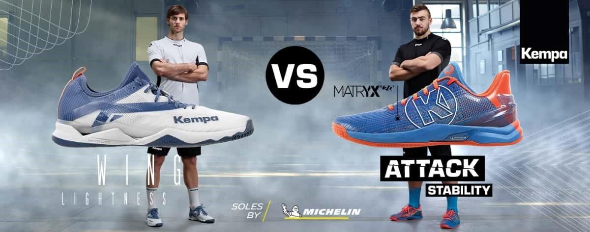 Kempa Wing vs. Kempa Attack
