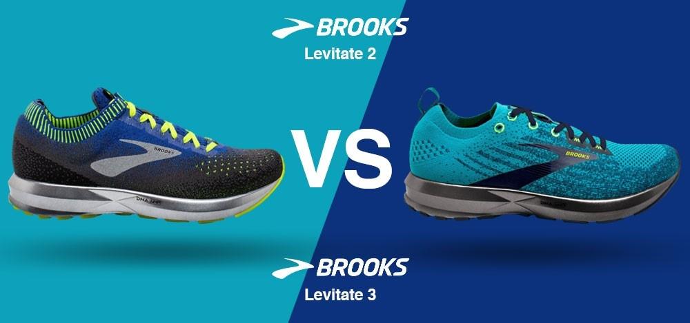 Brooks Levitate 2 vs. Brooks Levitate 3