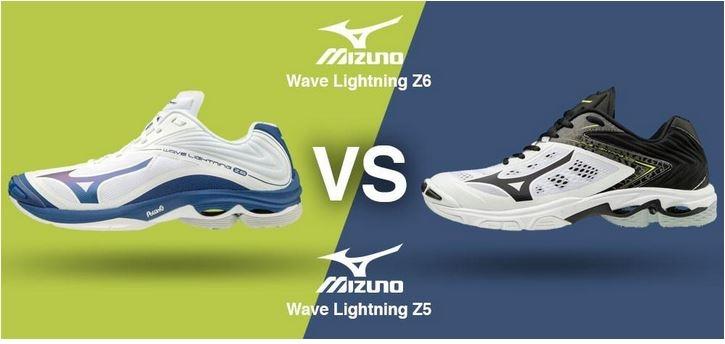 Mizuno Wave Lightning Z6 Vs. Mizuno Wave Lightning Z5