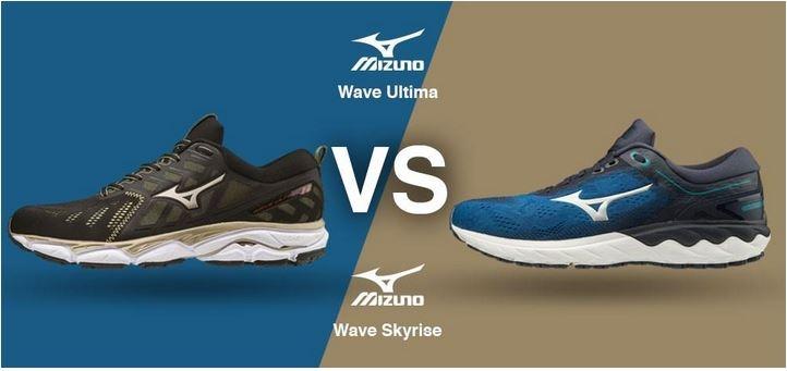 Mizuno Wave Skyrise vs. Mizuno Wave Ultima
