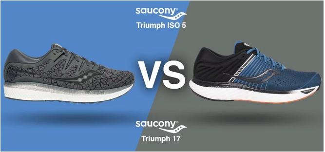 Saucony Triumph 17 vs. Saucony Triumph ISO 5