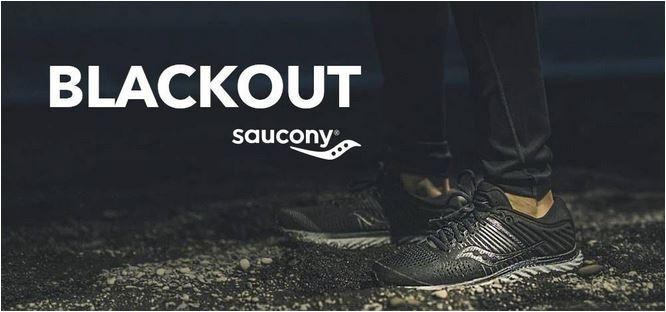 Saucony Blackout